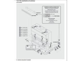 Kit De Raccordement Vers L'Air Extérieur DEVILLE C07082
