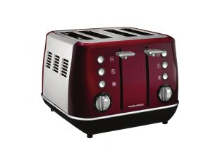 GRILLE-PAIN 4 TRANCHES MORPHY RICHARDS EVOKE M240108EE Rouge