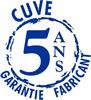 Cuve garantie 5 ans